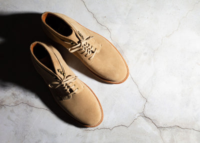 Pre-Order - Edward Boot Tan Suede
