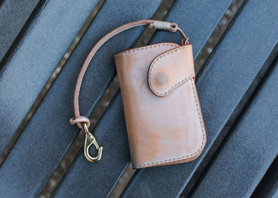 Ewing Dry Goods | Natural Ghost Wallet & Lanyard