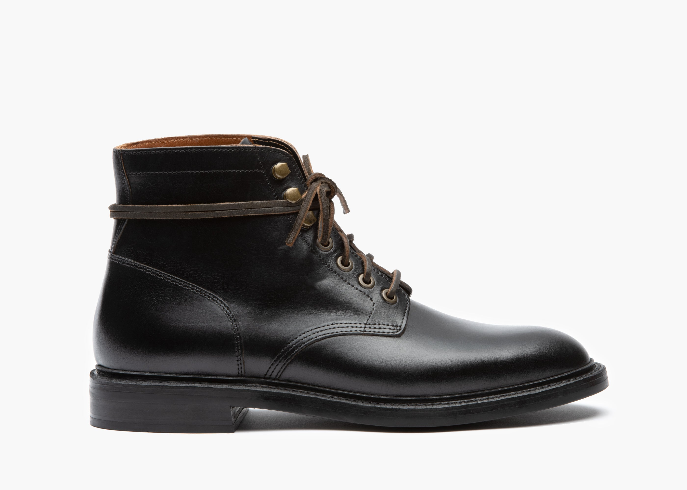 d0e3a0911717a Diesel Boot Black Chromexcel Rubber Sole - Grant Stone