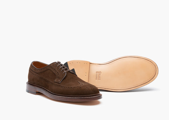 Longwing - Coffee Suede