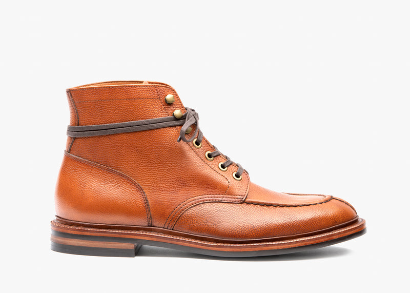 Ottawa Boot - Antique Cognac Pebble Grain