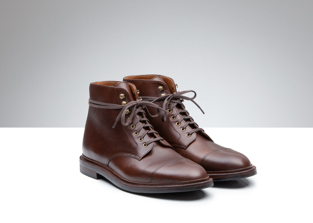 Cap Toe Boot Crimson Chromexcel