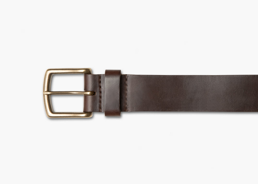 Crimson Chromexcel Leather Belt