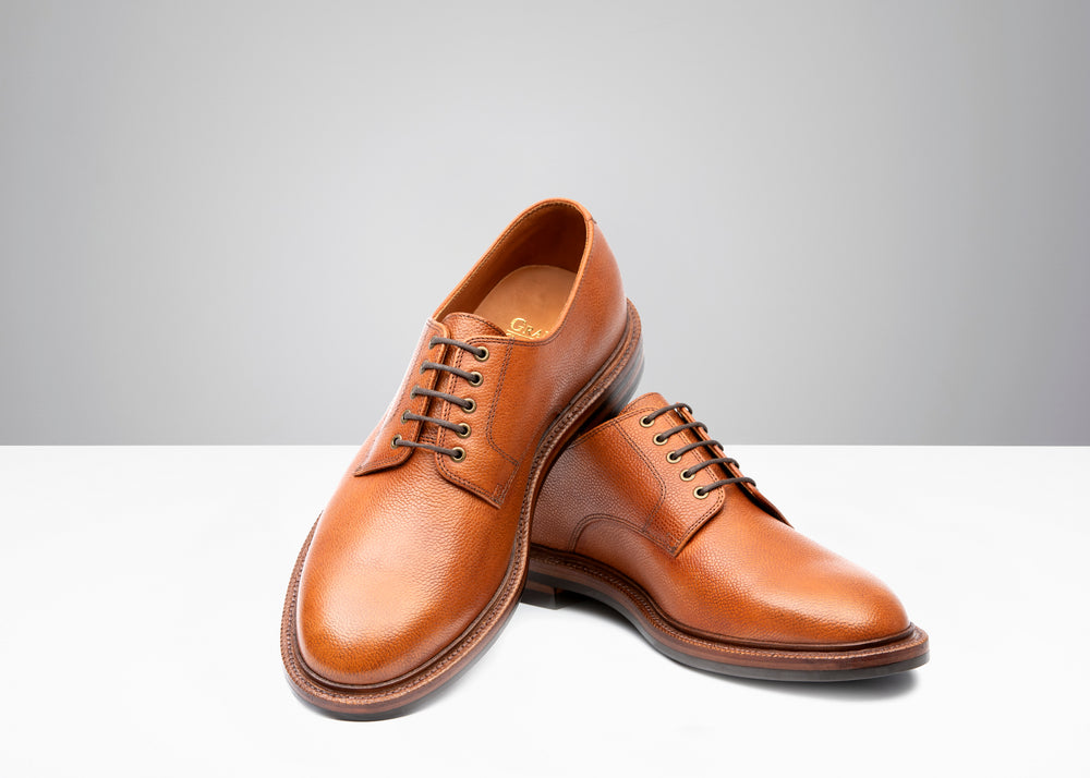 Country Derby - Antique Cognac Pebble Grain