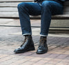 Diesel Boot Black Chromexcel Rubber Sole