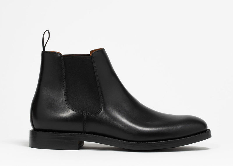 Chelsea Boot - Black Calf