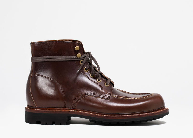 Brass Boot Crimson Chromexcel