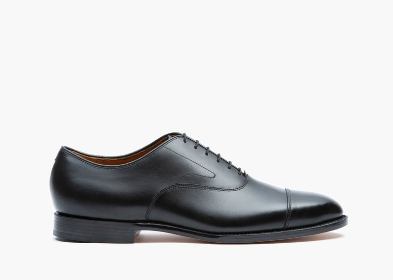 Cap Toe Oxford - Black