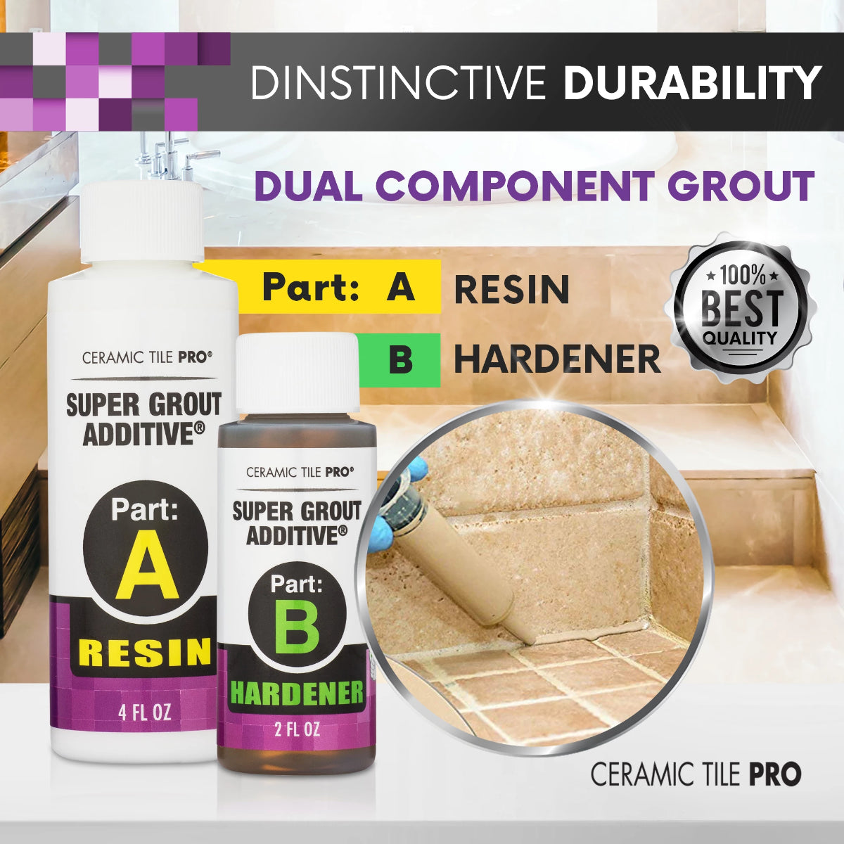 2019 Top Selling Grout No More Bacteria Never Seal