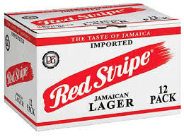 Red Stripe Beer - X12