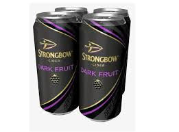 Strongbow Dark Fruit Cider - X4