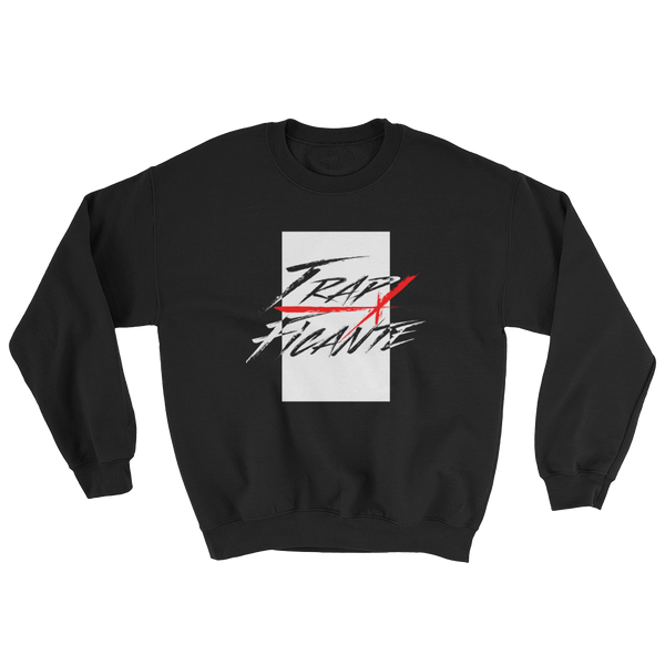 Trap Crew Neck Sweater (Black/White Rec)