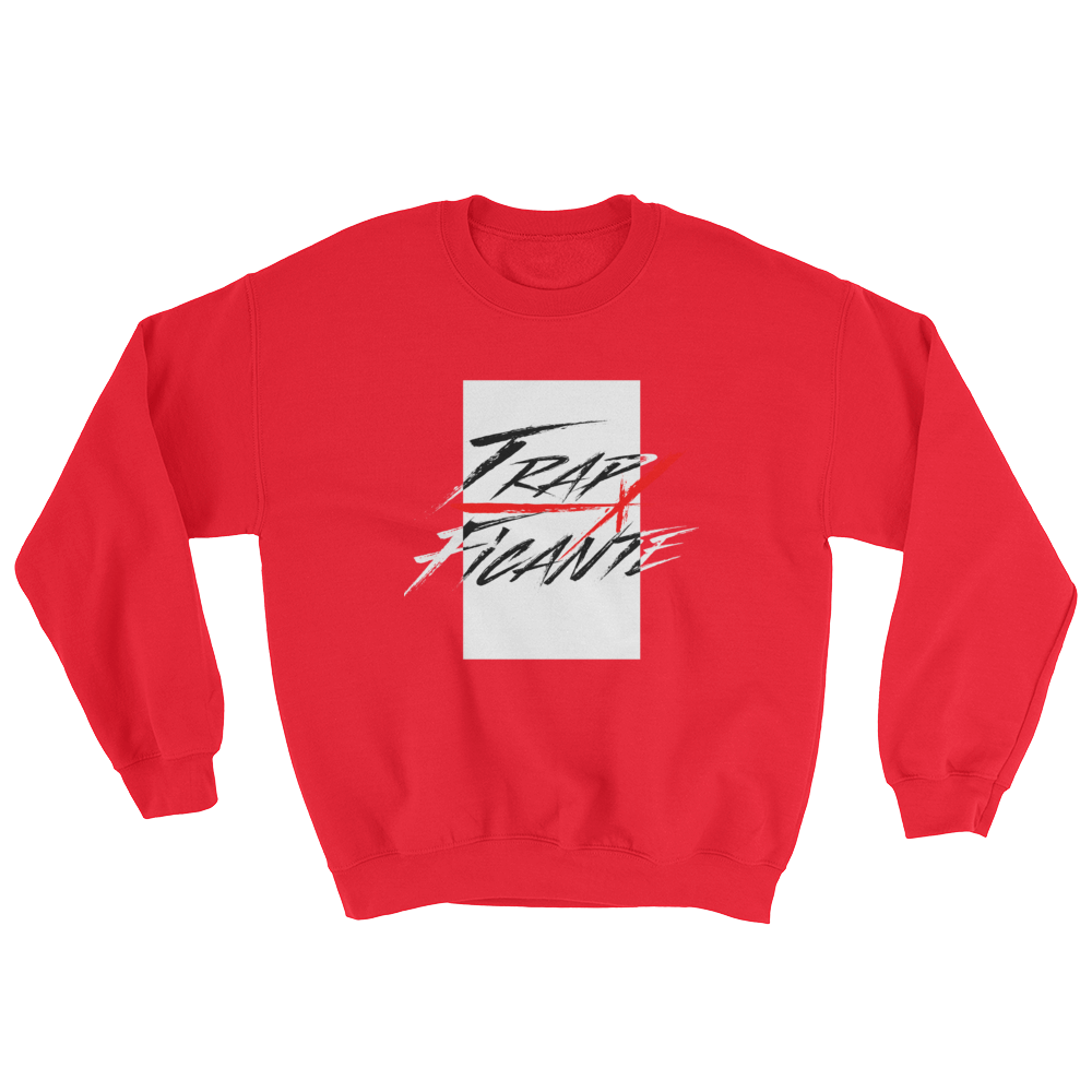 Trap Crew Neck Sweater (Red/White Rec)