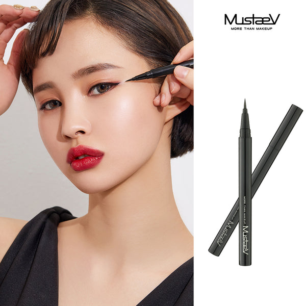 MustaeV Tension Fit Liquid Liner Brush Pen Perfect Black