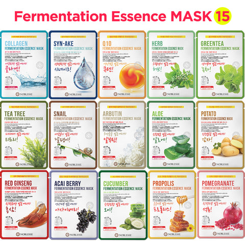 Noblesse Fermentation Essence Mask sheet pack skincare