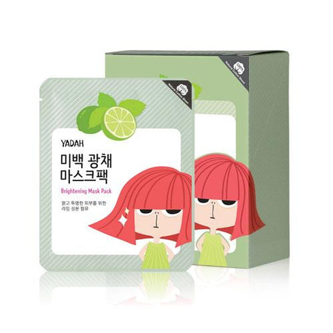 YADAH Brightening Mask Pack 12ea