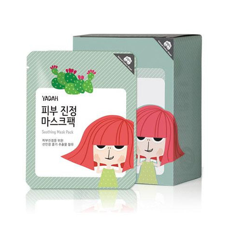 YADAH Soothing Mask Pack 12ea