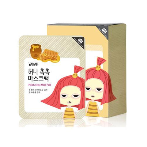 YADAH Moisturizing Mask Pack 12ea