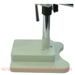 Simul-focal Trinocular Microscope w/ Double Boom Stand + Adjustable LED