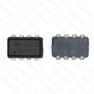 AON4703 A0N 4703 20V P-Channel MOSFET with Schottky Diode