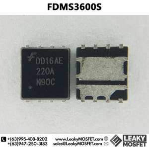 FDMS3600S 3600S 3600 Asymmetric Dual N-Channel MOSFET