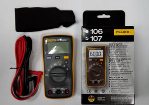 Fluke 107 AC/DC Current Handheld Digital Multimeter