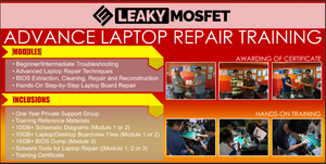 LeakyMosfet Advanced Laptop Repair Training