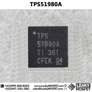 TPS51980A 51980A TI POWER CONTROLLER IC CHIP