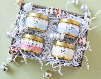 THE PERFECT HOLIDAY GIFT! Create Your Own Candle Gift Sets