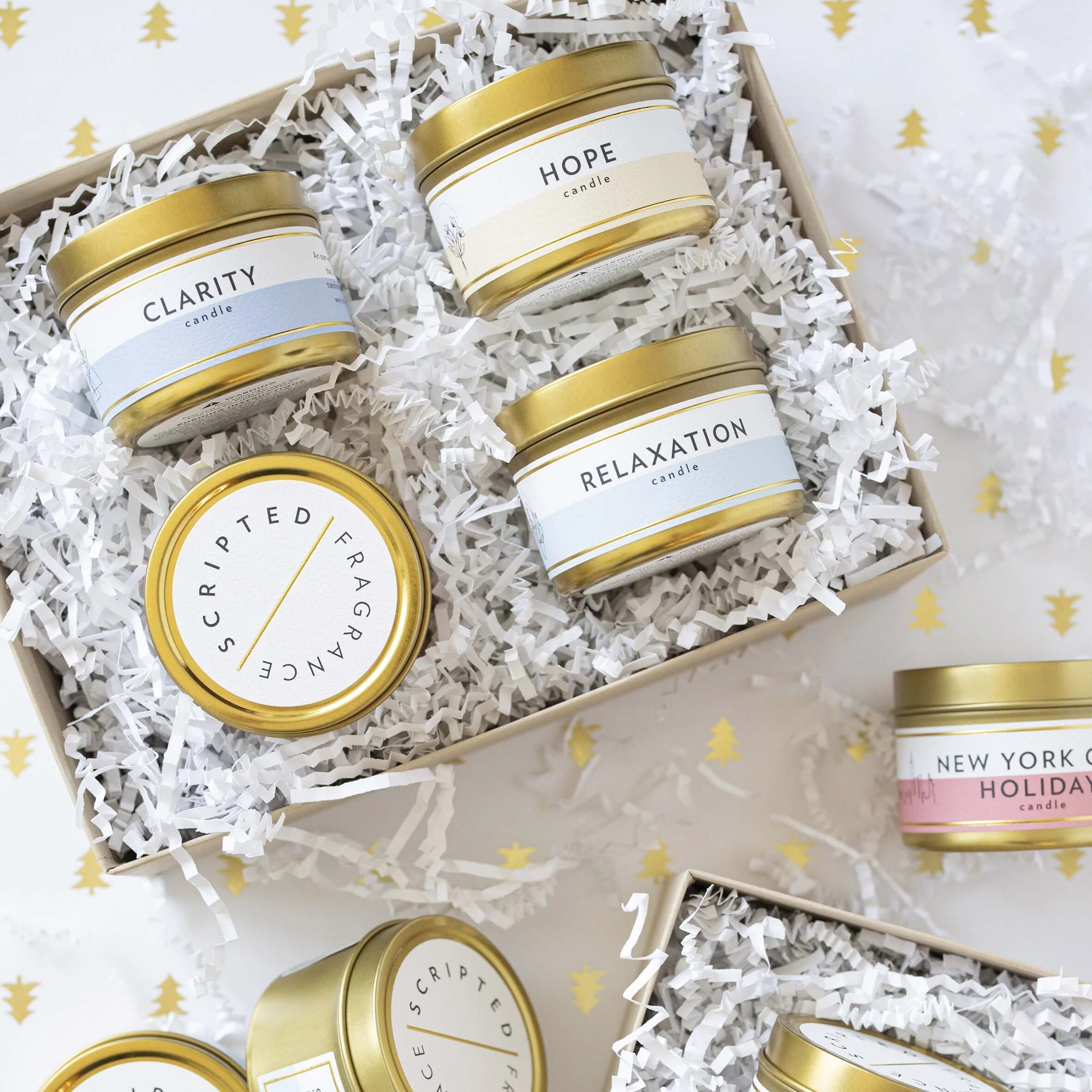 ScriptedFragrance_Soy Candles_Create Your Own Gift Set_Custom Bridesmaid Groomsman Gifts