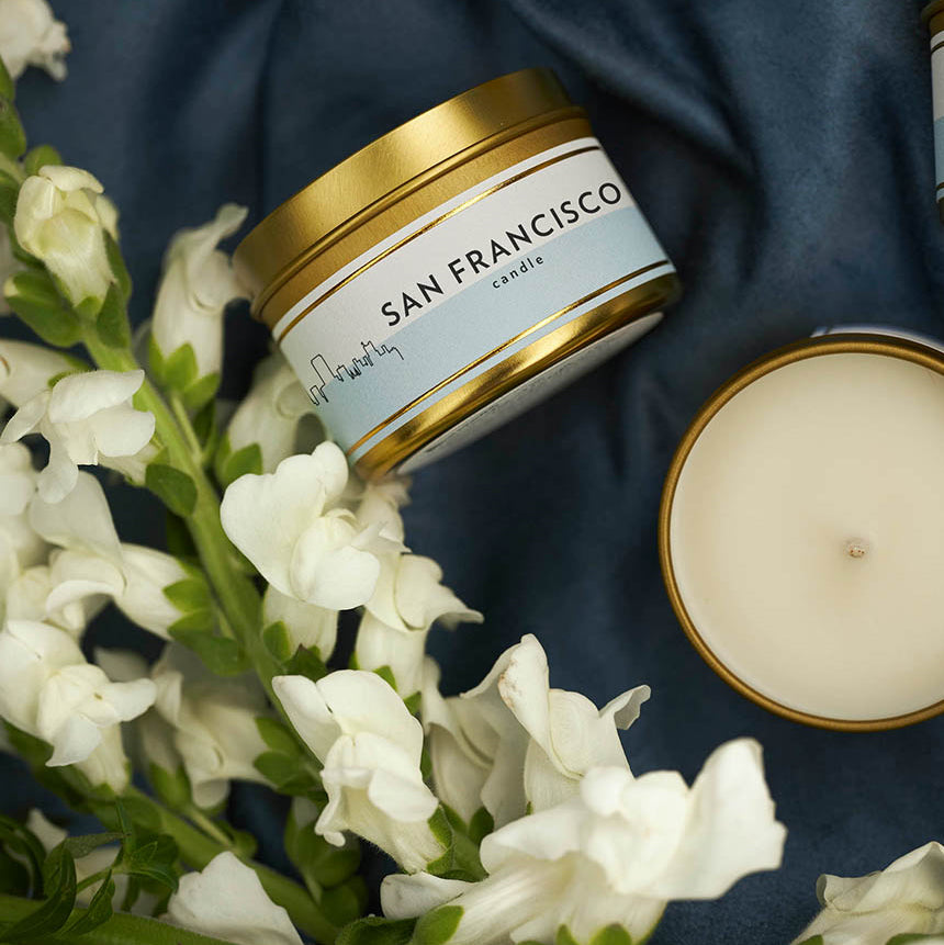 Scripted Fragrance Soy Candle Favors Wedding and Special Events Classic Package