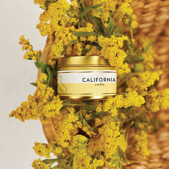 Scripted Fragrance Soy Candles Wedding Favors Candle Special Corporate Event Candle_State Candles_California