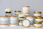San Francisco City Soy Candle in Large Luxe Gold Tin