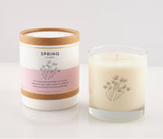 Spring Seasonal Soy Candle in Signature Silhouette Glass