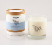 Winter Seasonal Soy Candle in Signature Silhouette Glass