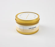 Arizona State Soy Candle in Large Luxe Gold Tin
