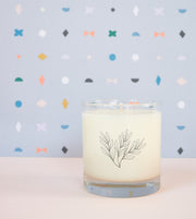 Summer Seasonal Soy Candle in Signature Silhouette Glass