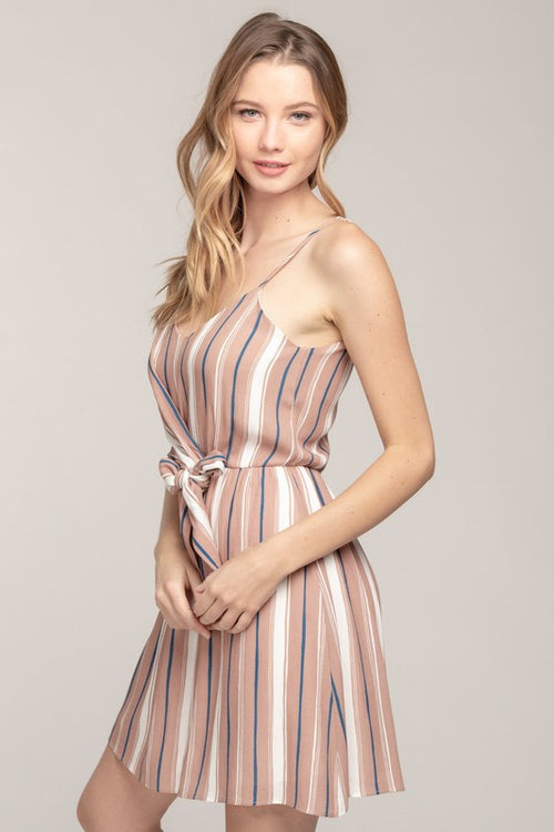 The Sienna City Stripe Dress