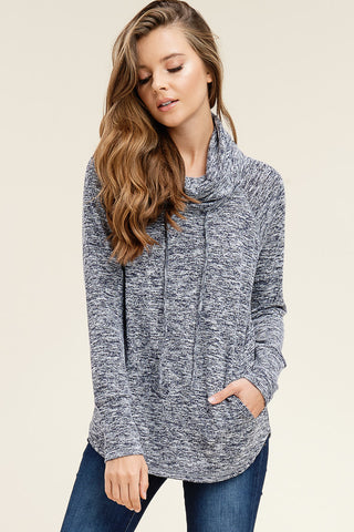 Mauve Thermal Cardigan