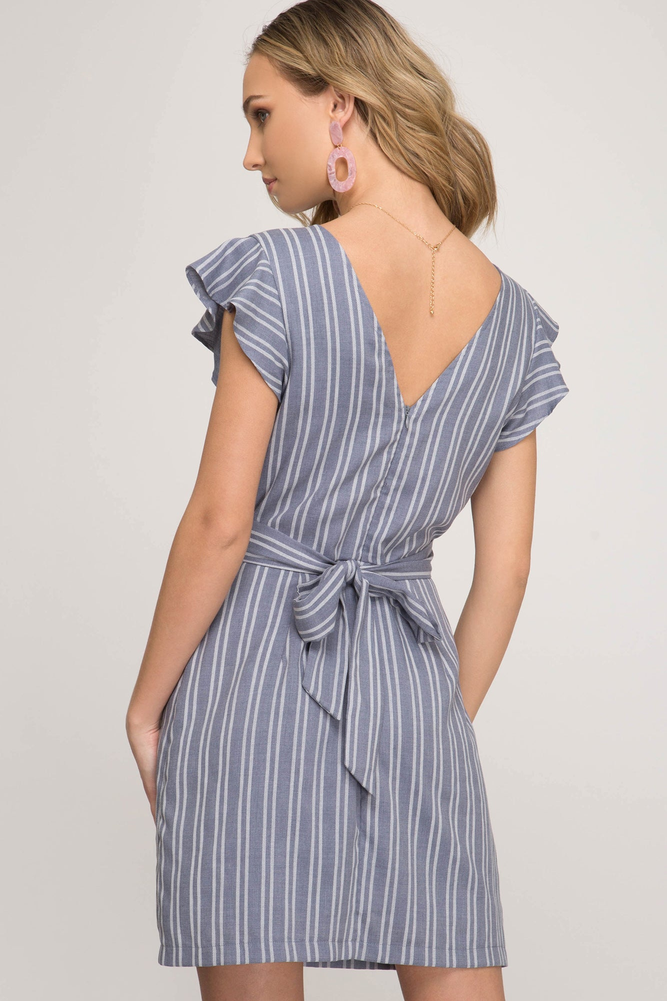 The Striped Sacramento Dress