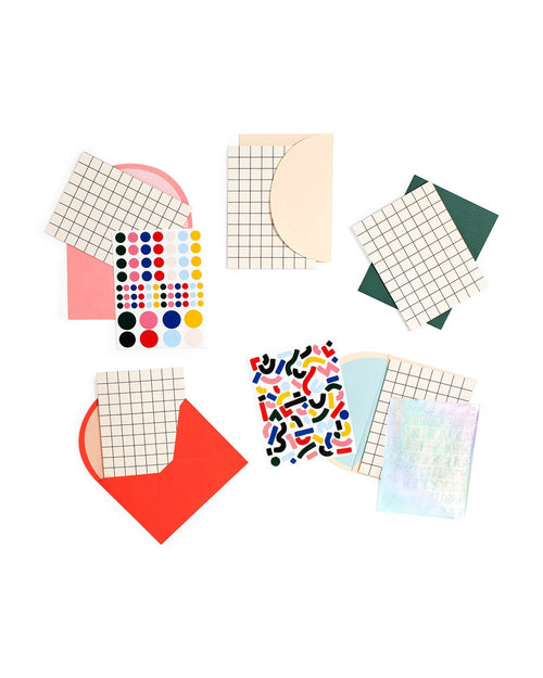 Self-Expression Card Kit - Mini Grid