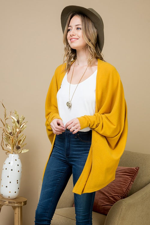 The Denver Dolman Cardigan