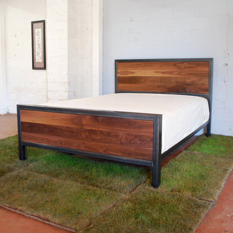 Kraftig Bed Number 3 with Walnut