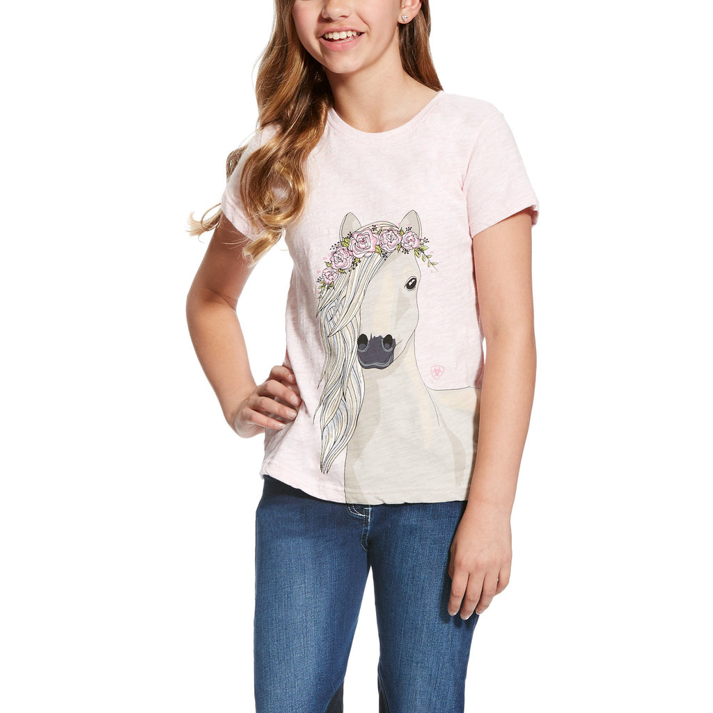 Ariat Girl's Festival Pony Tee