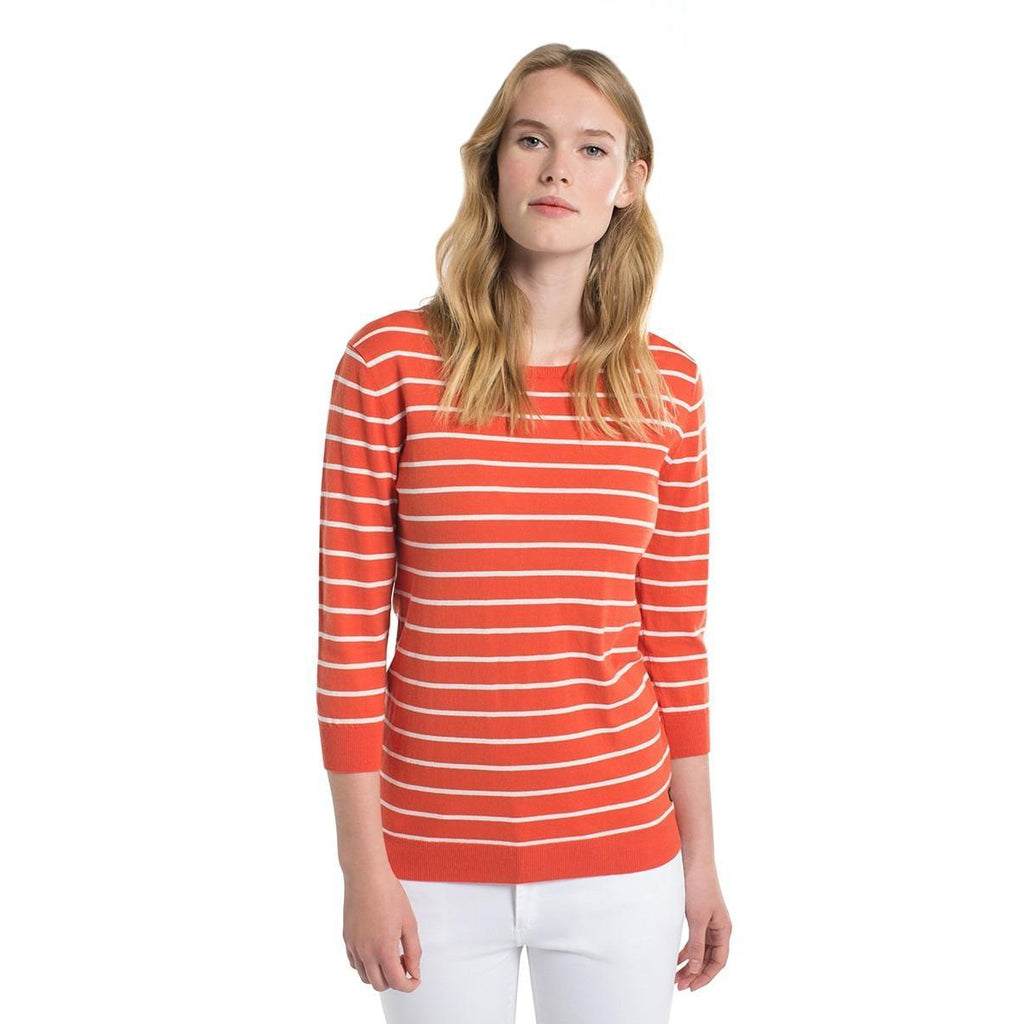 Dubarry Howth Striped Cotton Knit