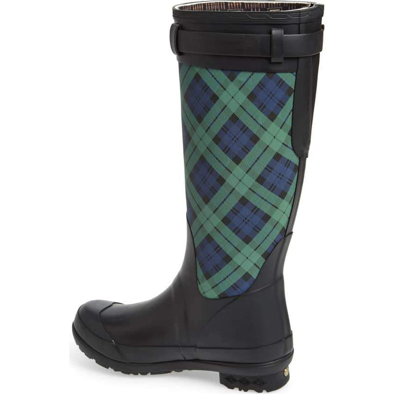 Pendleton Black Watch Tall Rain Boot