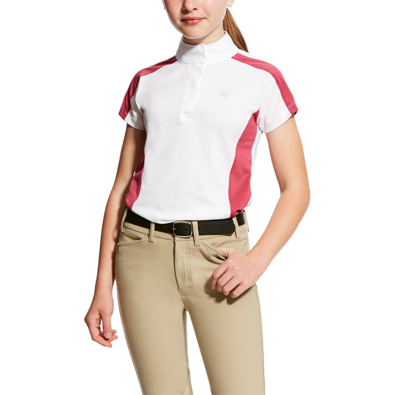 Ariat Aptos Block Girls Short Sleeve Shirt