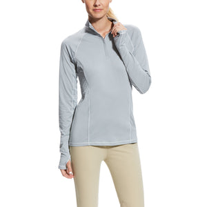 Ariat Lowell 1/4 Zip - Coastal Grey