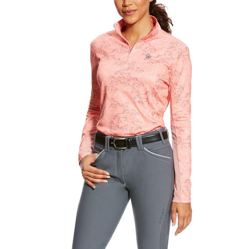 Ariat Sunstopper 1/4 Zip Print