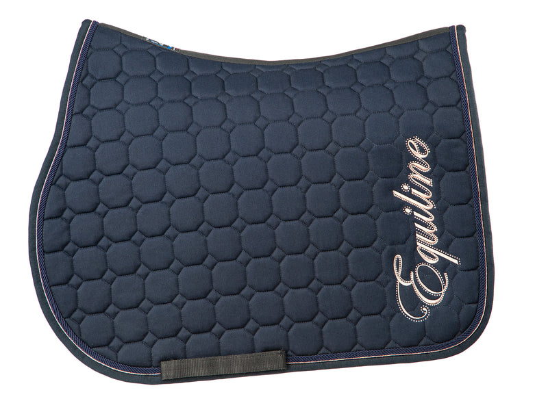 Equiline Banksia Saddle Pad With Rose Gold Embroidery